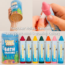 Load image into Gallery viewer, Bath Crayons 7 Pack