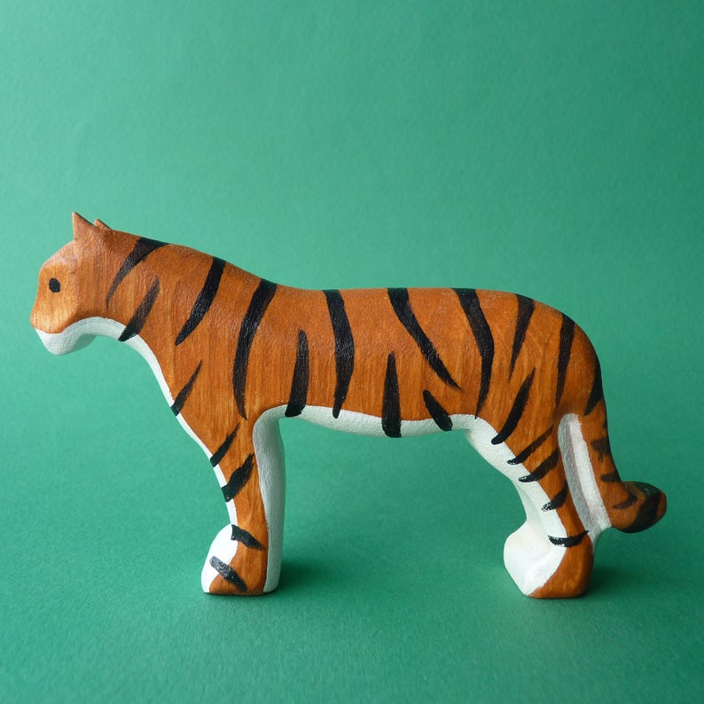 Wooden Tigress