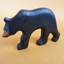 Load image into Gallery viewer, Wooden Black Bear (Mum)