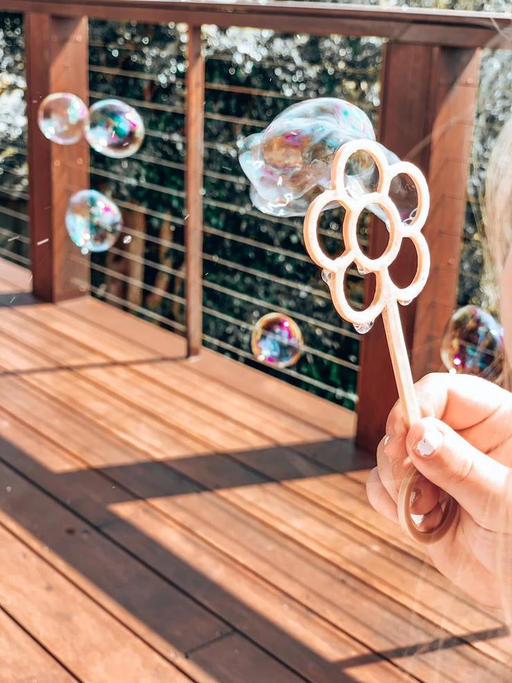 Flower Eco Bubble Wand