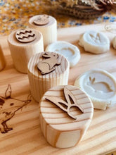 Load image into Gallery viewer, Easter Playdough Stamps - Northern Hemisphere Theme