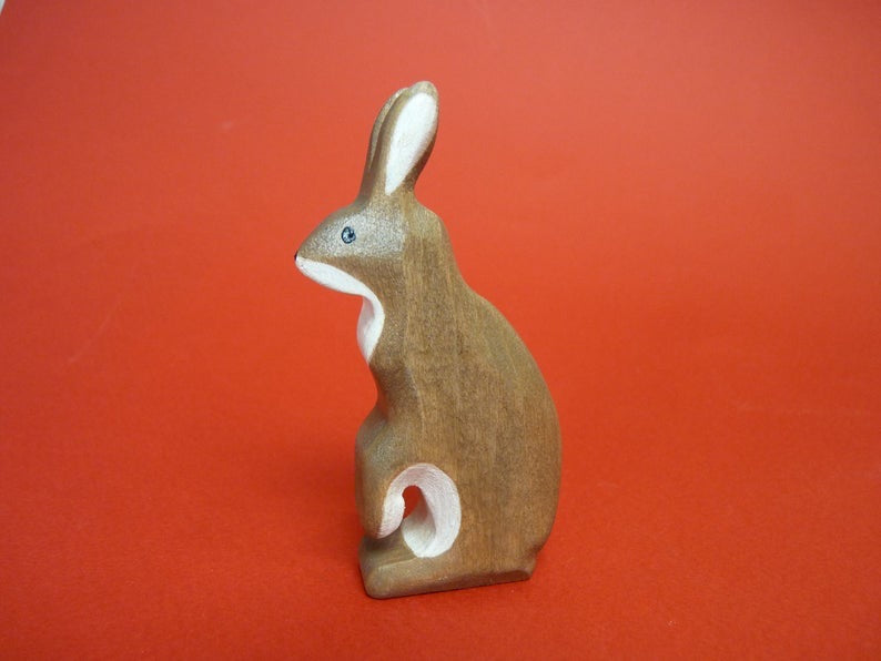 Wooden Hare (Standing)
