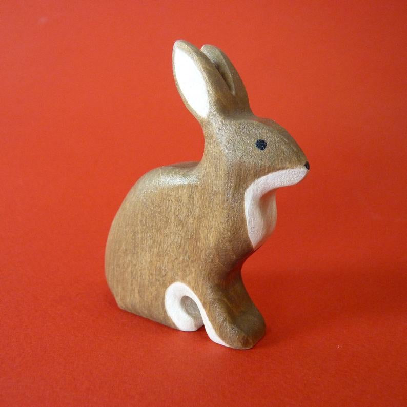 Wooden Hare (Sitting)