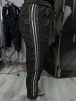 Load image into Gallery viewer, Magic Bottoms - Designer Dark Grey Camo Stripe