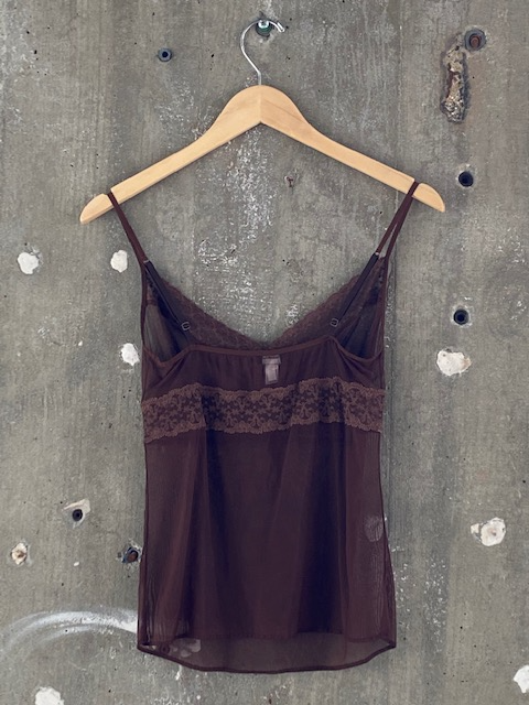 Cosabella Brown Lingerie Top