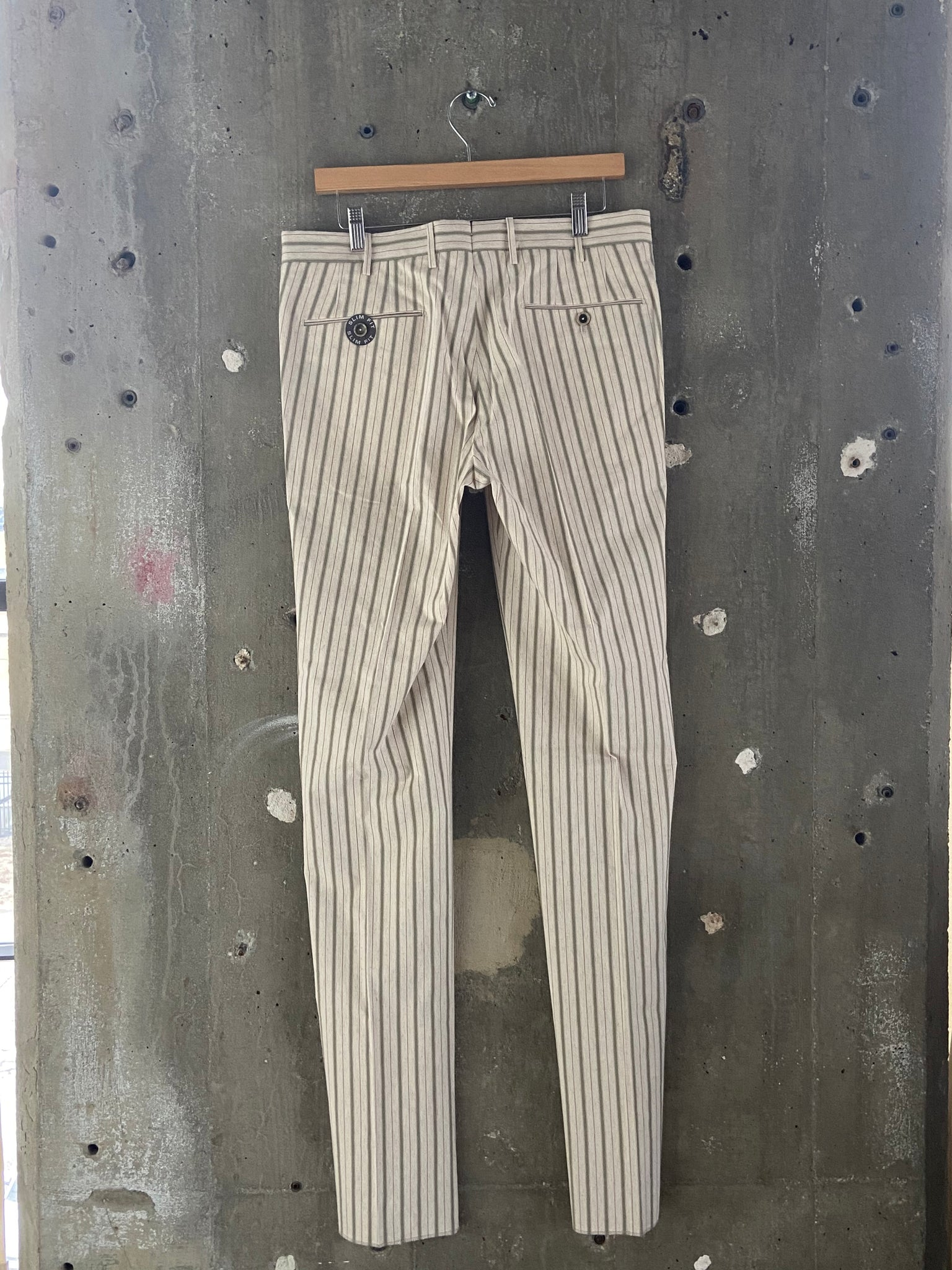 PT Torino Striped Cuffed Trouser