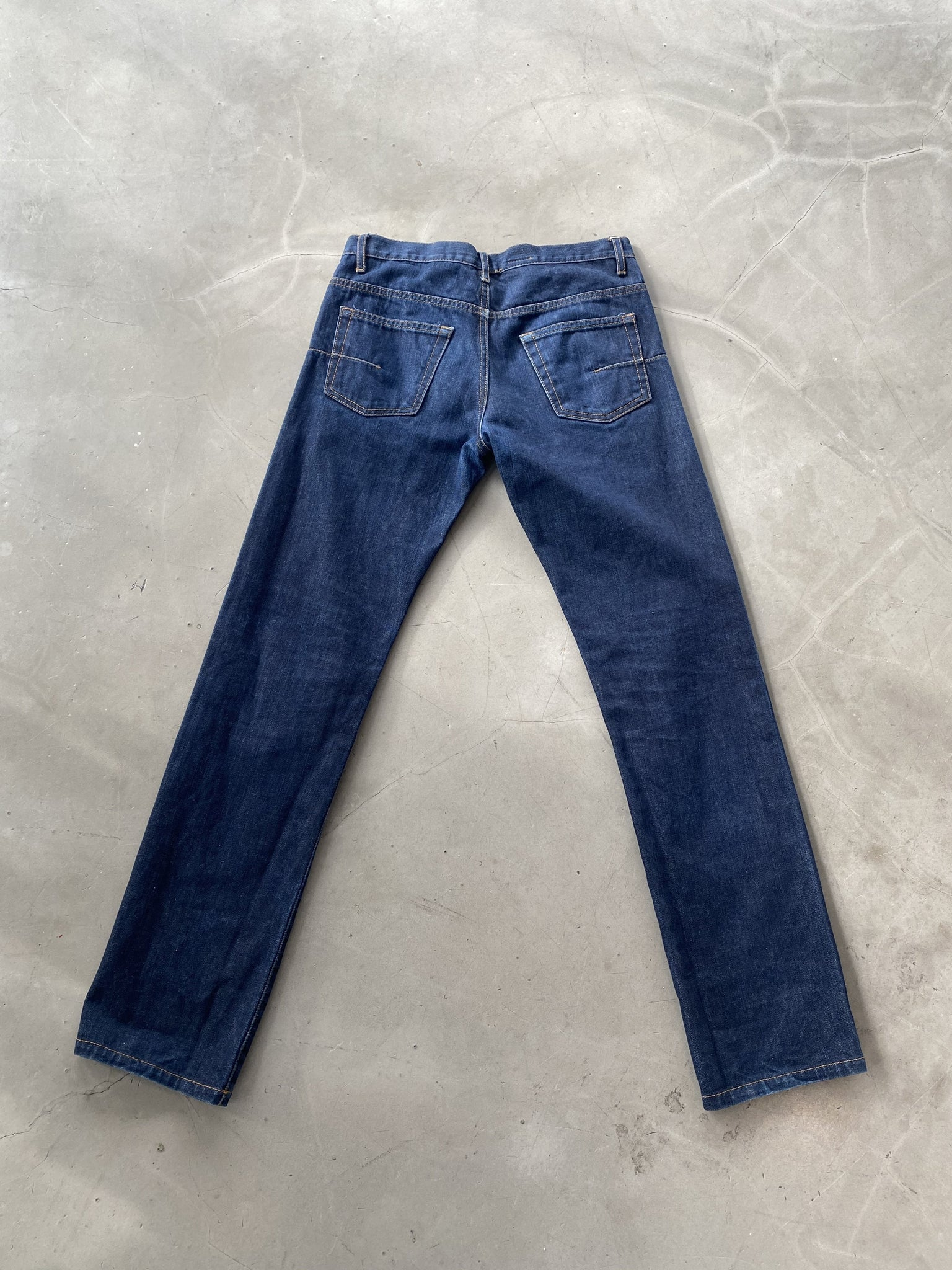 Dior Blue Wash Vintage Denim