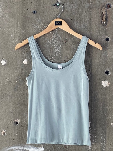 Hanro Light Blue Tank-Top
