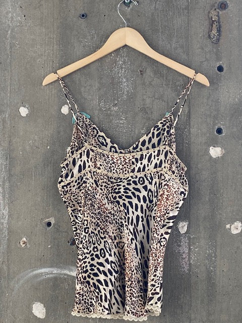 Guess Jeans Cheetah Tank-Top