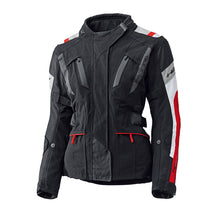 Load image into Gallery viewer, Held 4-Touring Jacket Ladies Black/White/Red