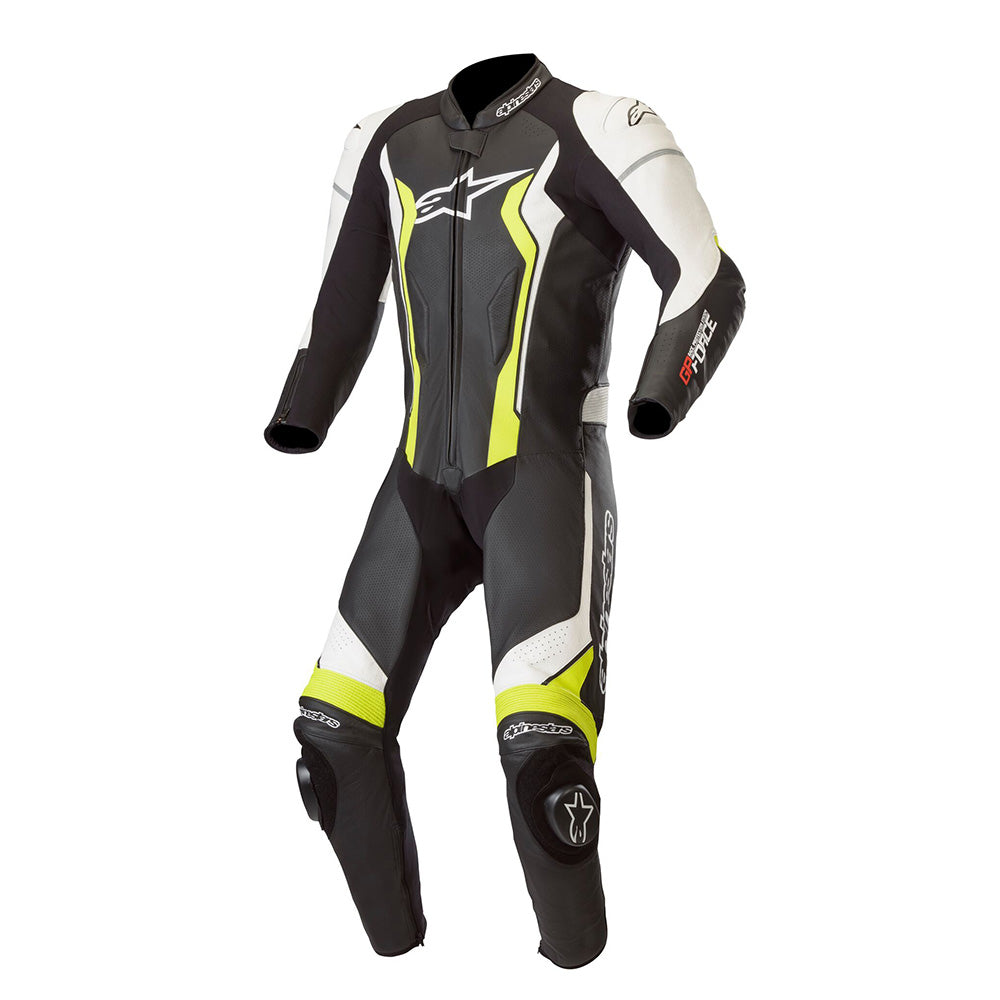 Alpinestars GP Force Suit Black/White/Yellow