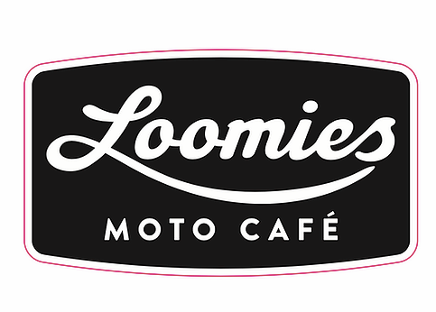 Loomies Black Sticker