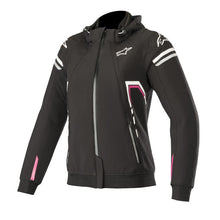 Load image into Gallery viewer, Alpine Sektor Tech Hoodie : Black White Fuchsia