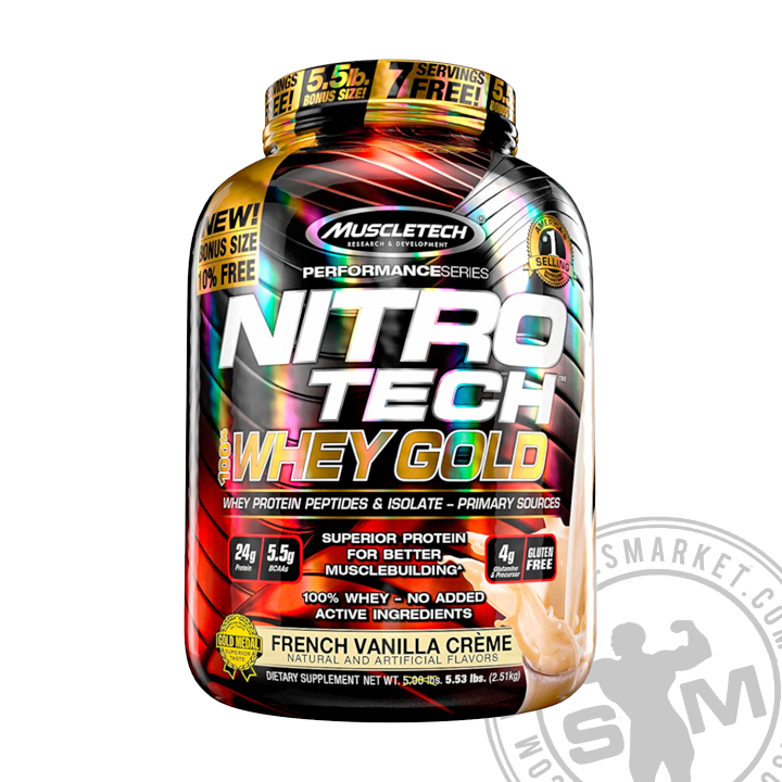 NITROTECH WHEY GOLD (5.5 LBS)
