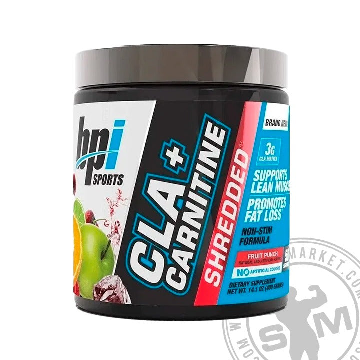 BPI CLA + CARNITINE SHREDDED (50 SERVS)