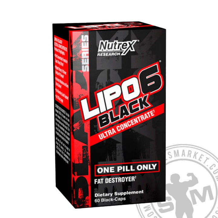 LIPO 6 BLACK ULTRA (60 CAPS)