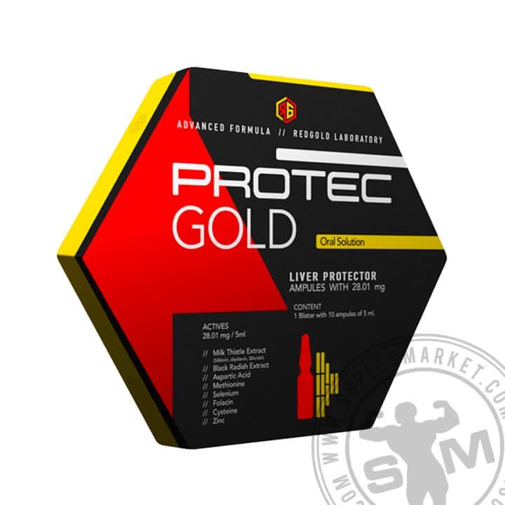 PROTECT RED GOLD (10 AMPULES)