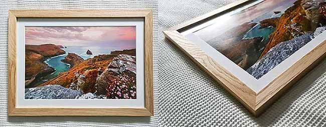 one of our solid premium oak frames for sale made in germany for sebastien coell photography