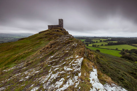 Hike to the mighty Brentor church.