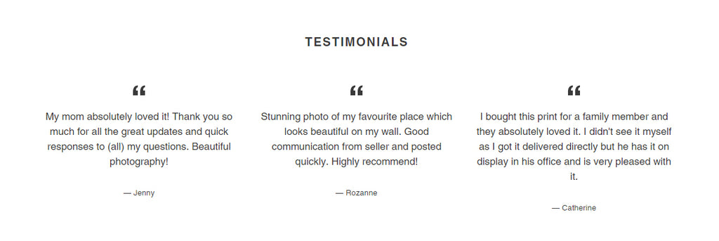 we have many testimonials and product reviews from many satisfied customers