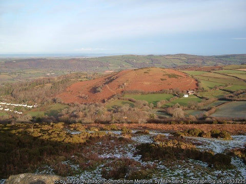 Chagford Meldon Hill is a great place to visit on the Dartmoor national park