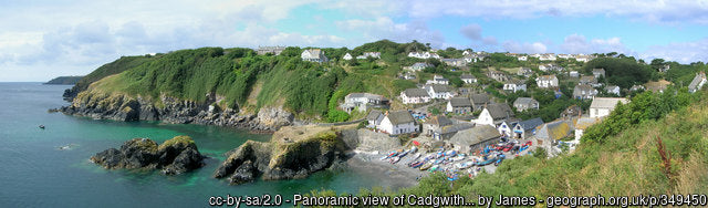 Cadgwith bay on the cornish coast makes a great coastal work for anyone wanting a photographic place to visit