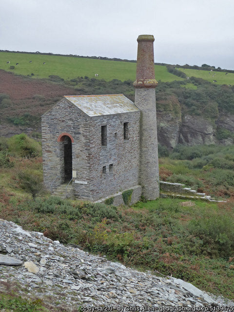 Engine House Trail is a very challenging but rewarding hike across the cornish landscape
