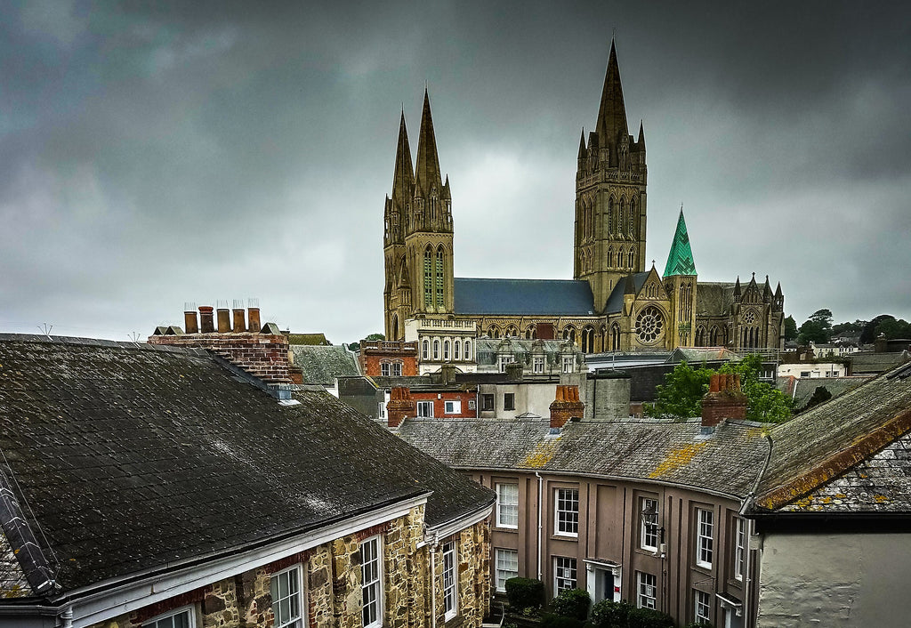 Truro the county of Cornwalls capital is a must visit for great shopping and food