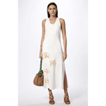 Vestido Flower Off White