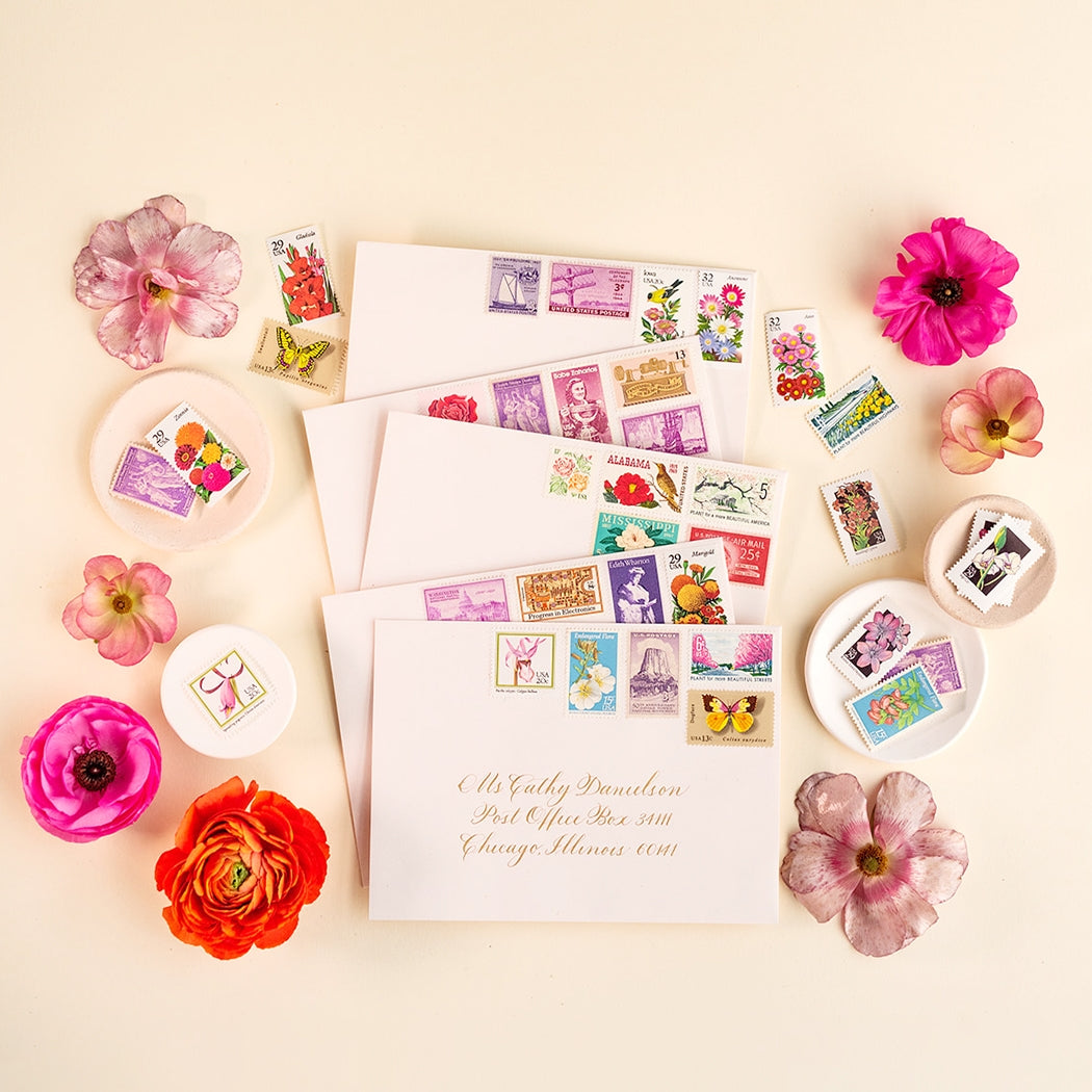 Vintage Postage - Botanical Collection