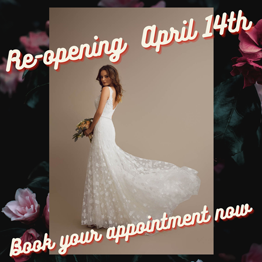 Appointments available from Wednesday 14th April - Book now!
