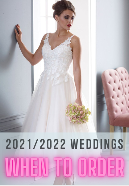 2021-22 or  last minute bride this year? You need to read this