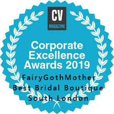 CV Corporate Awards: FairyGothMother 2019 - Best Bridal Boutique in South London