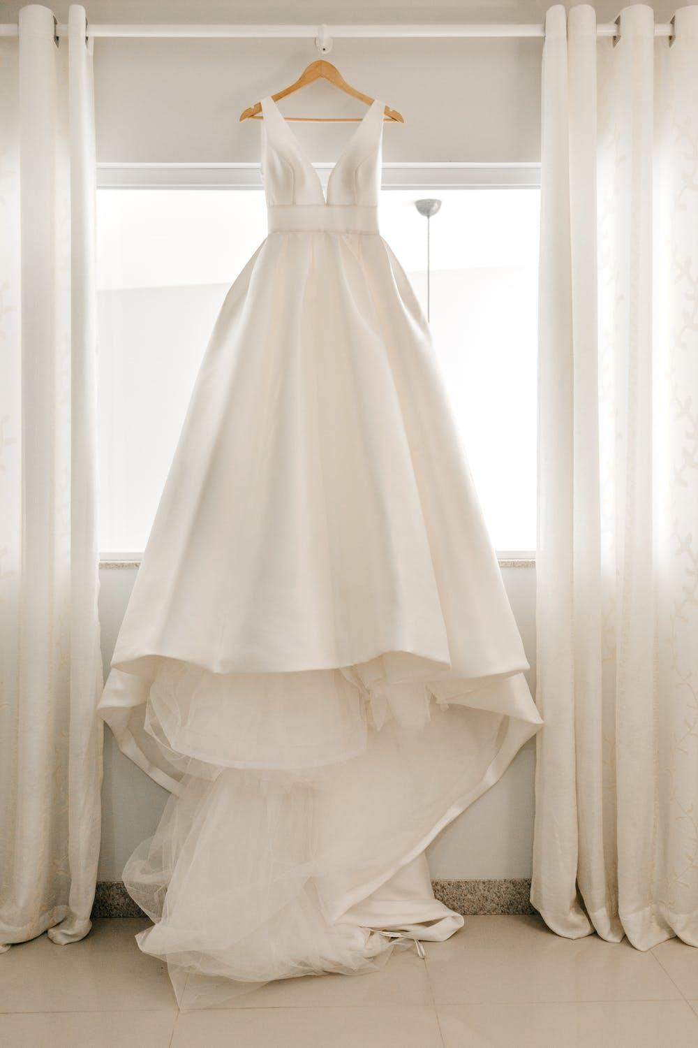 wedding dress finally ready to collect
