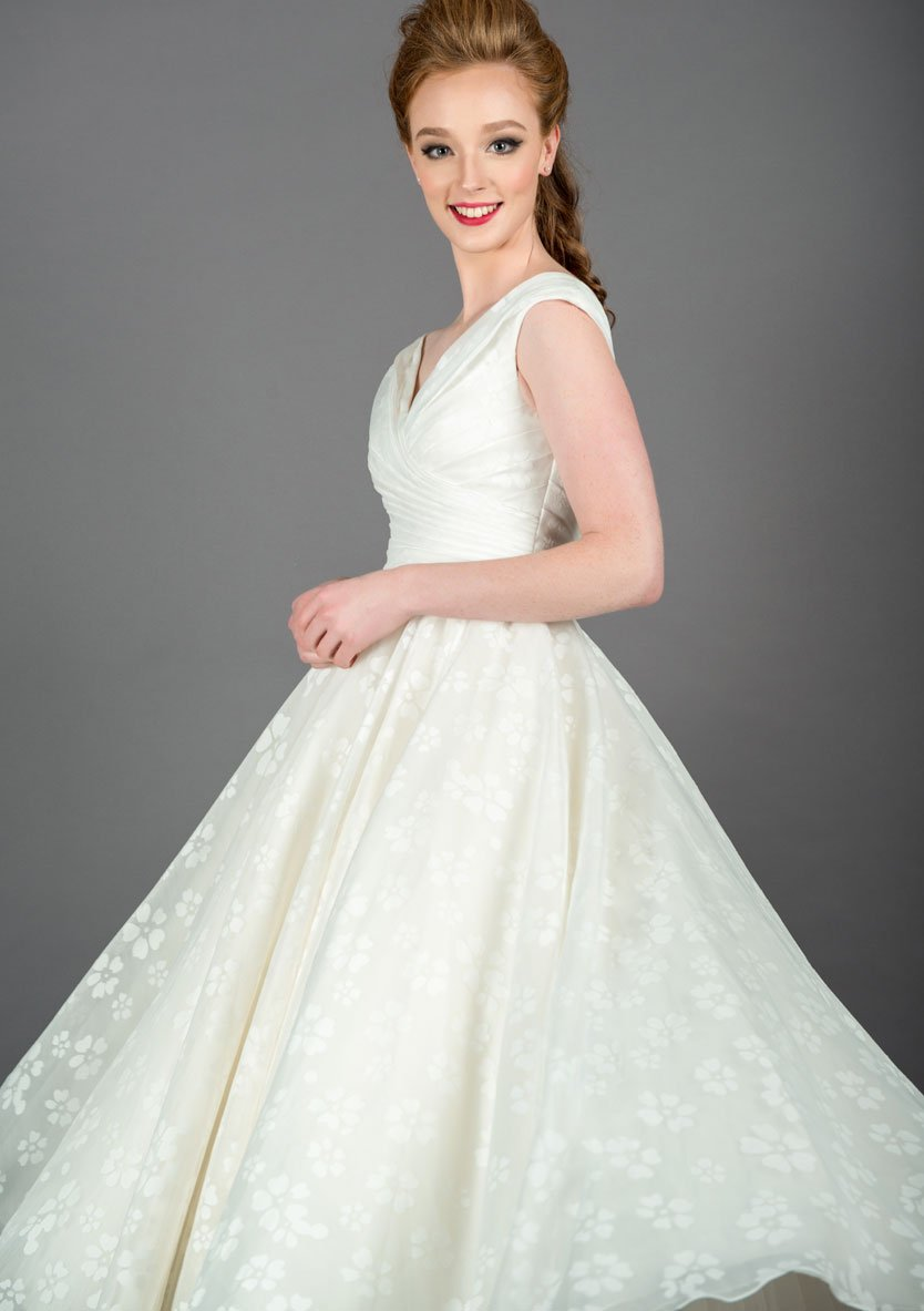 Image of the Cilla floral wedding dress