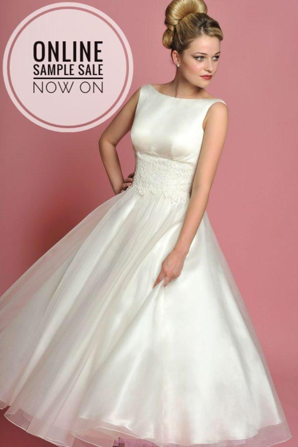 The FairyGothMother online Sample Wedding Dress Sale is now on.