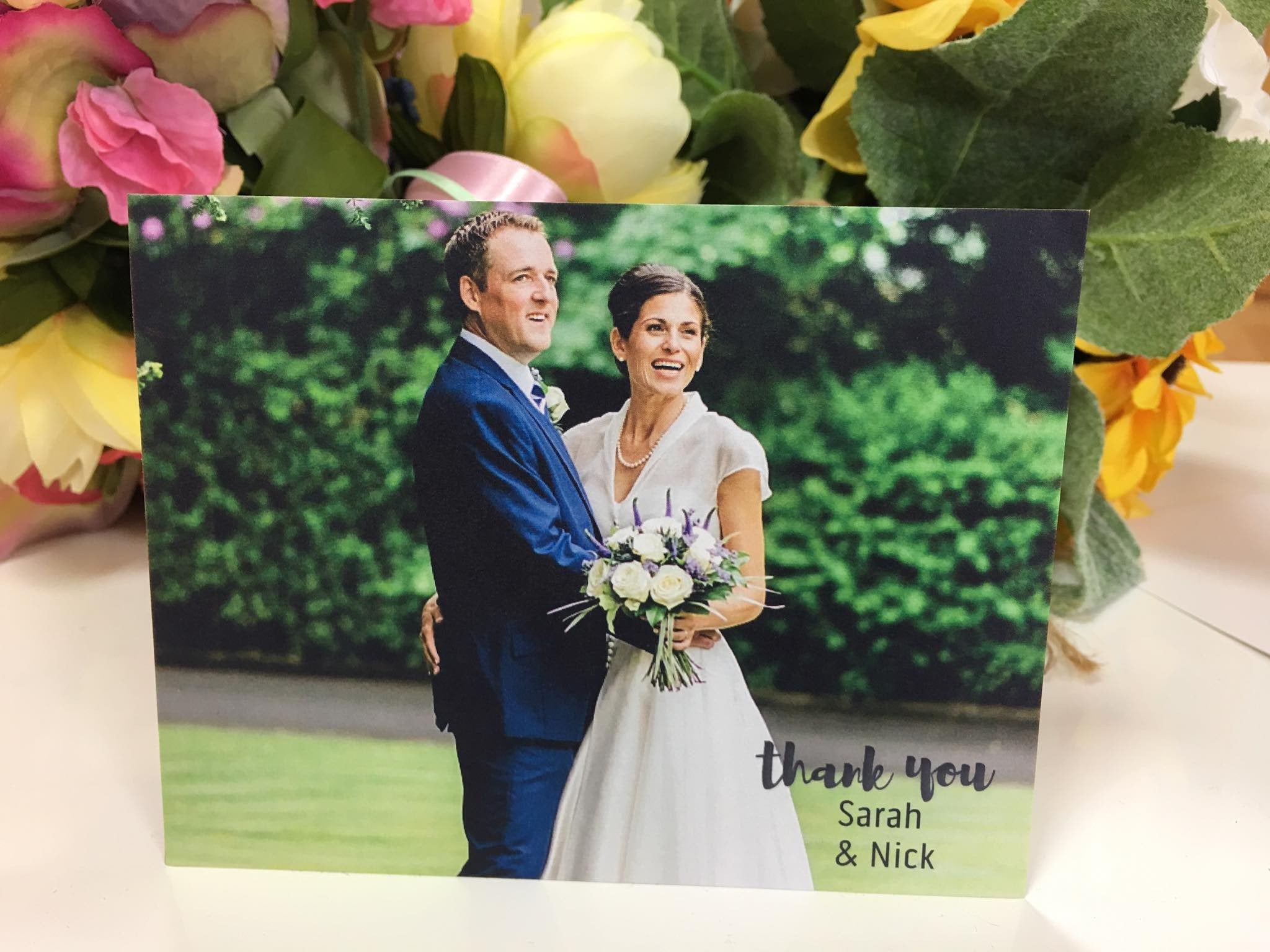 Sarah and Nick - we get the best thank you cards!
