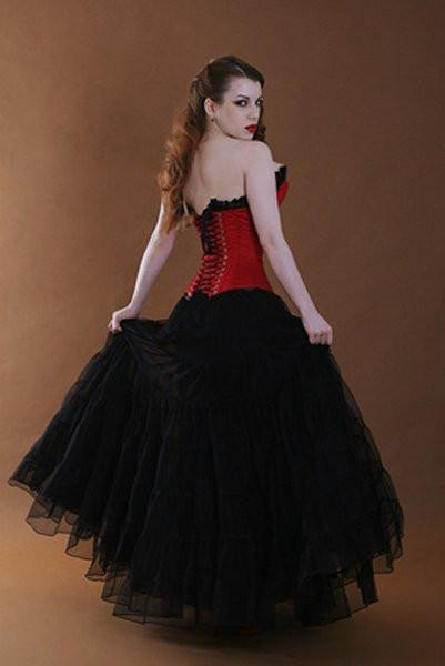 ba-01 Fully lined petticoat skirt