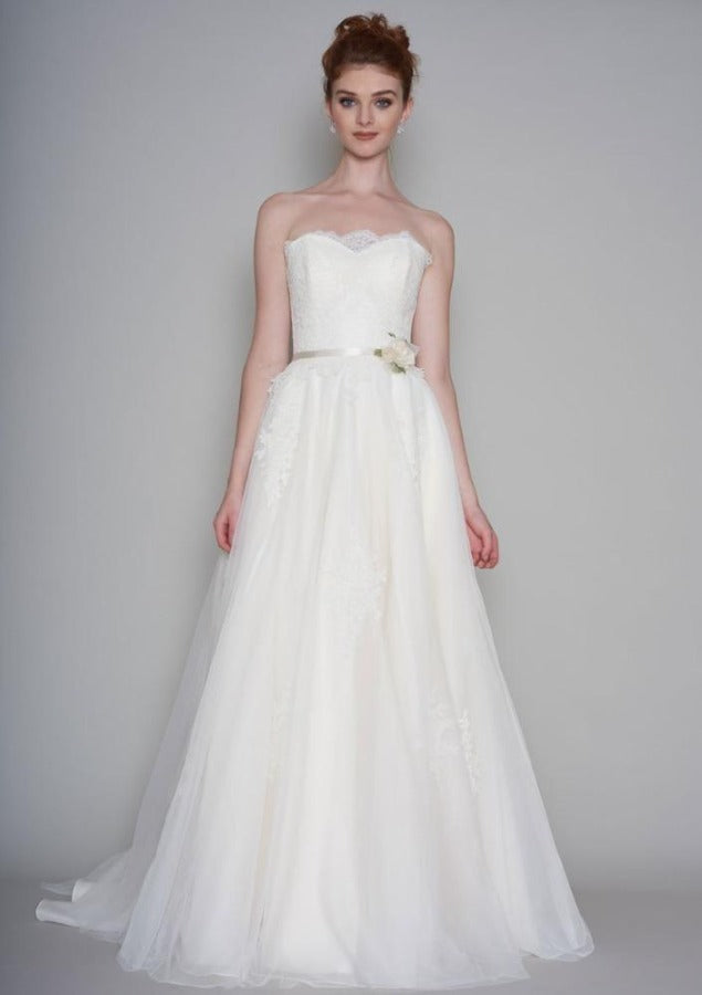 86-bree-s  Full length tulle wedding dress