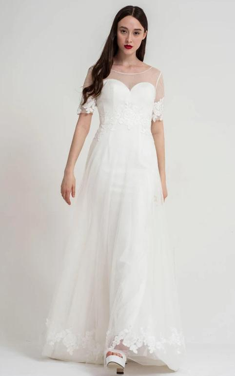 Ava wedding dress by Freda Bennet