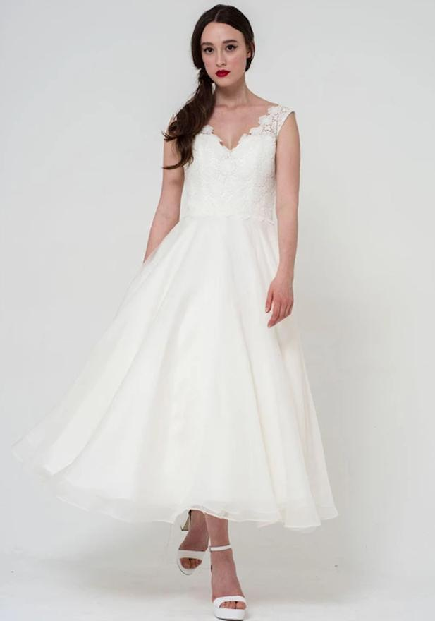 The Freya wedding dress by Freda Bennet