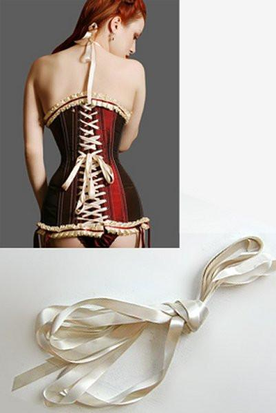 fgm-l2 Corset ribbon lacing