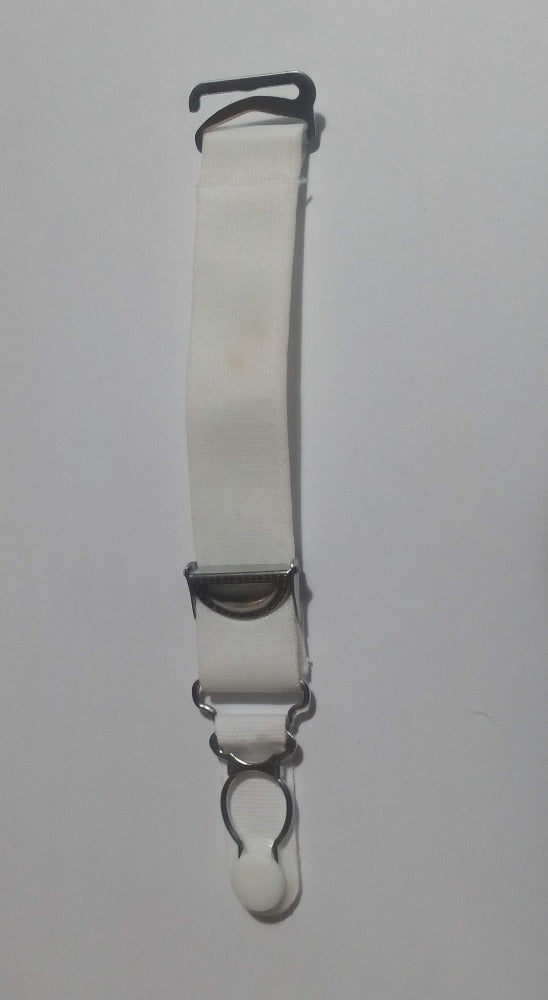fgm-s2  Pair of suspender clips