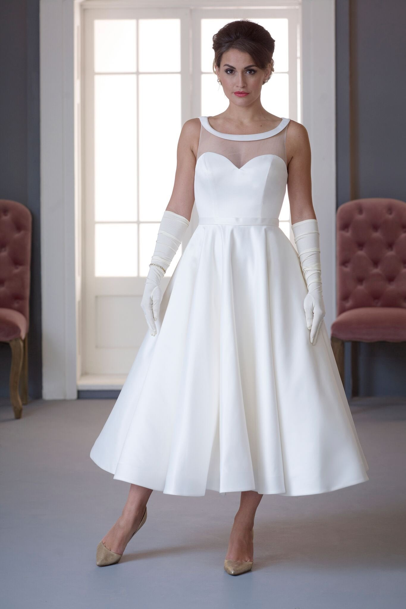 Fifties Style Wedding Dresses