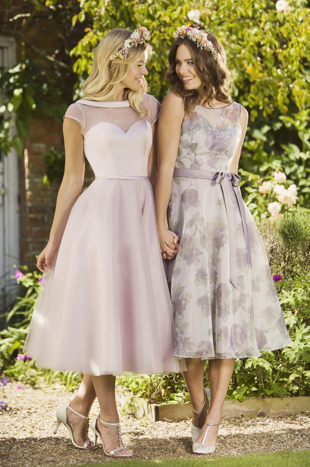 tb-m101-s Tea length dress
