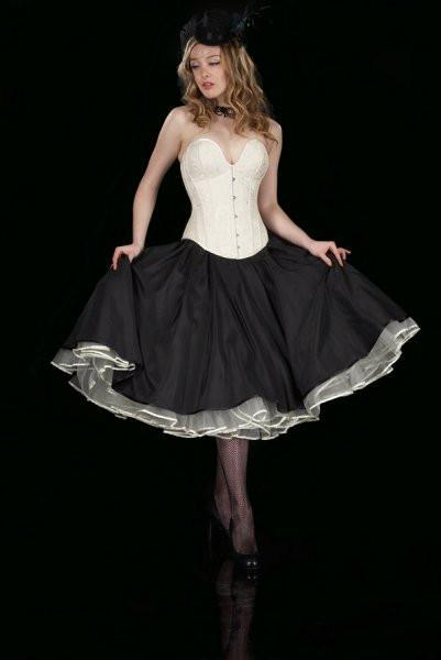 sm-10  Fifties style double layer petticoat