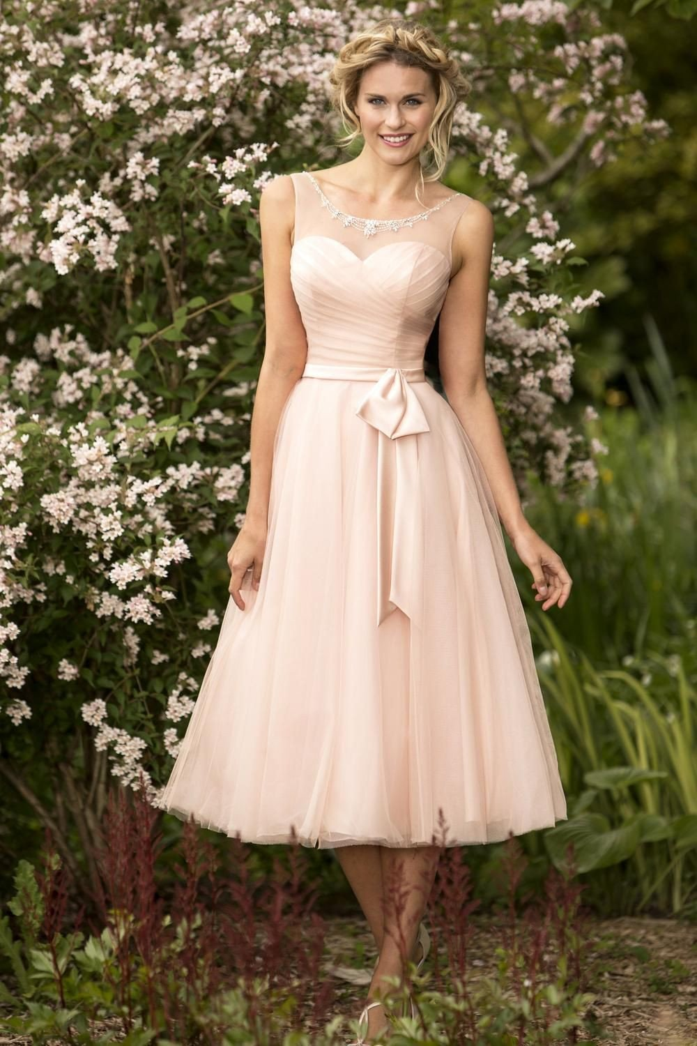 tb-estelle-s Tulle dress featuring a pleated bodice