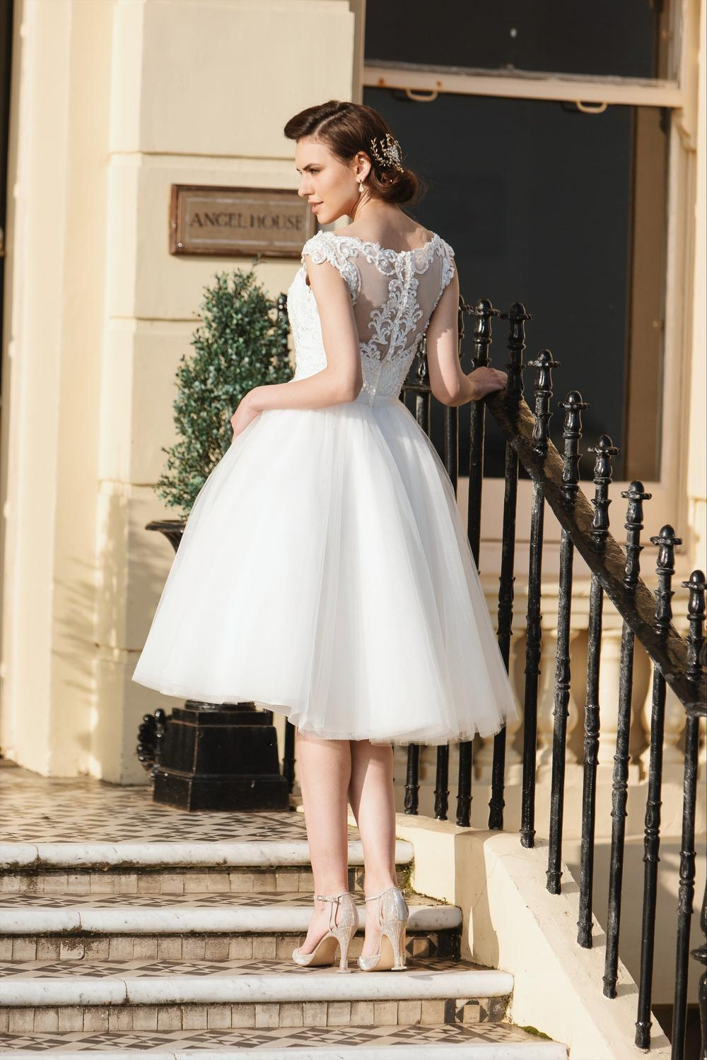 tb-sydney-r  Wedding dress featuring a sweetheart neckline