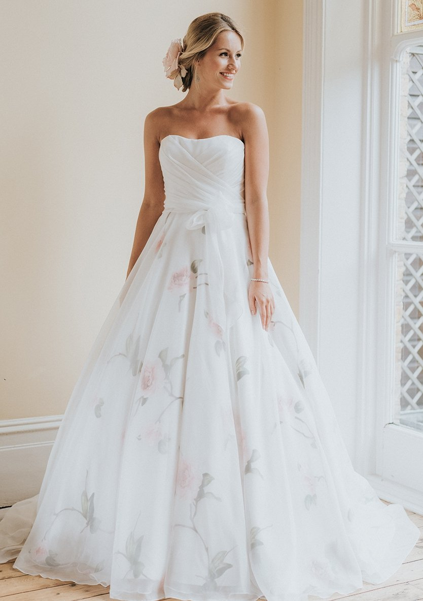 Floral Bridal- floral wedding dresses in London UK – FairyGothMother