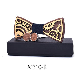 Wooden Bowties